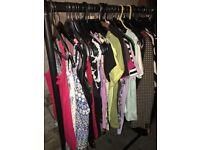 67 item bundle mens & ladies clothes high street brands VGC car boot resale