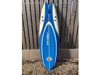 6'2'' SOFT/FOAM SURF BOARD. MADE BY THE CALIFONIA BOARD COMPANY (CBC)