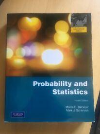 Probability and Statistics, Morris H DeGroot, Mark J.Schervish
