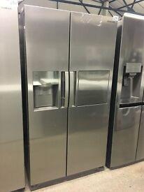 SAMSUNG RS7677FHCSL American-Style Fridge Freezer - Stainless Steel