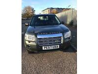 LAND ROVER 2.2 FREELANDER GS TD4 ESTATE DIESEL CAR 57 REG.,,FULL HISTORY, MOT SEPTEMBER 2021