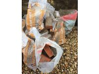 FREE! Rubble and red bricks. About 6 bags. Collect from bs3