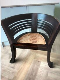 LARGE UNUSUAL CHAIR IN V.G. CONDITION £60