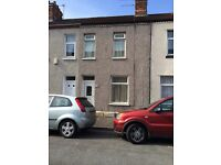 2 bed house in grangetown, unfurnished