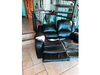 Recliner 2 and 1 seater