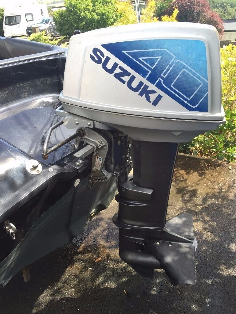 Suzuki dt40 outboard engine excellent condition in for Suzuki boat motors for sale