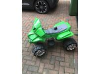 Kids battery quad bike