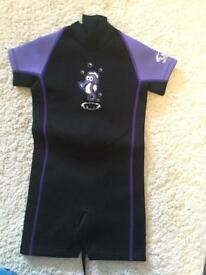 TWF (The Wetsuit Factory) Kids Wetsuit Purple - Age 5-6 Years (Size K2) - BNWT