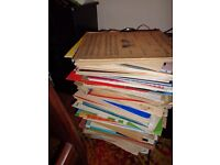 HUGE PILE OF SHEET MUSIC FOR GUOTAR PIANO RECORDER VIOLNS AND ORCHESTRA