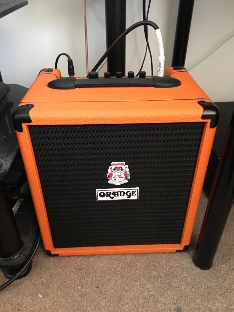 Orange crush 25w bass amp
