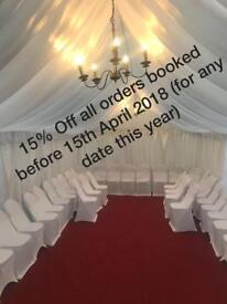 Marquee / Tent /gazebo Hire and much more