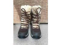 Ladies Hi-Tec St. Anton Winter Boots. Size UK 5, EU 38.