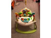 Fisher-Price Rainforest Space saver Jumperoo.