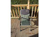 Cyprinus Ultra fishing or camping chair **BRAND NEW** still boxed (2 to sell)