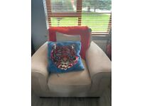 Sofa & chair for sale