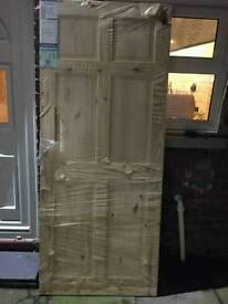 Colonial Knotty pine 6 panel internal