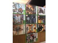 Xbox 360 gamesx10