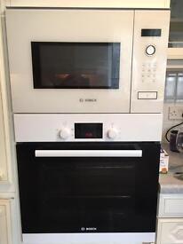Built in Microwave white bosh. 50.00