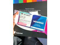 Wireless Saturday ticket 2018