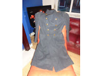MILATARIA RAF GREATCOAT EXCELLENT CONDITION ALL BUTTONS BADGES ORIGANAL