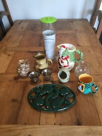 Job lot collection of bric a brac