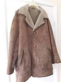 Gents genuine sheepskin jacket (vgc)