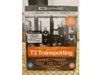 T2 TRAINSPOTTING 4K ULTRA HD BLU RAY
