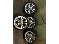 Genuine Audi alloy wheels & tyres