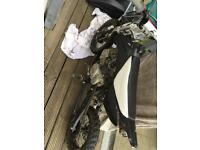 Stomp 125cc pitbike wpb frame