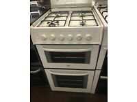 50CM WHITE ZANUSSI GAS COOKER
