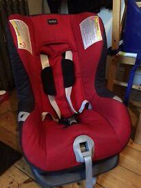 Britax car seat plus chilli red