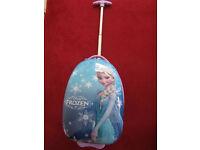 Girl's Disney Frozen Wheeled Travel Suitcase Light Up Wheels RRP£49.99