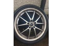 "4 ASA Bargain ! , 18 "" alloy wheels pcd 114.3 x 5 stud . Jap cars"