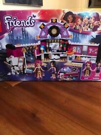 Lego Friends Pop Star Dressing Room + Recording Studio