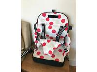 Toddler/Baby booster portable highchair seat
