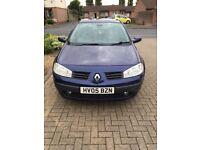 £30 a year tax 1.5 diesel Renault Megan 5 door