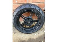 "Pit bike supermoto wheels 12"" with kenda tyres never been used"
