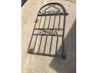 Wrought Iron Pathway Gate (width 810 x height 1470) £25.00
