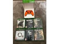 Xbox One Controller and Games Bundle