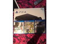 PS4 slim 4 months old