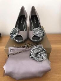 Menbur Shoes and Matching Bag