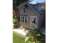 Play house shed 2 storey Wendy house