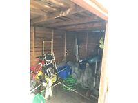 Garden shed needs tlc