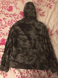 Superdry hooded multi-pocket camo jacket