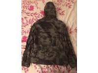 Superdry hooded multi-pocket camo jacket
