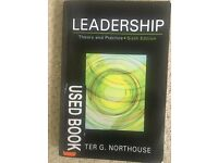 Peter G Northhouse 'Leaderhip'- Theory and Practice, Sixth Edition