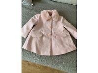 Baby girls coat 3/6 months
