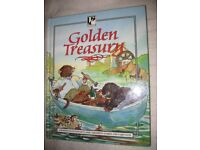 Golden Treasury Hardback Book In Full Colour - Classic Children's Stories and Fairytales