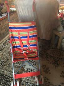 Red kite baby push chair £5 used