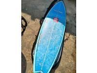 Natural rythms 610 fish surfboard